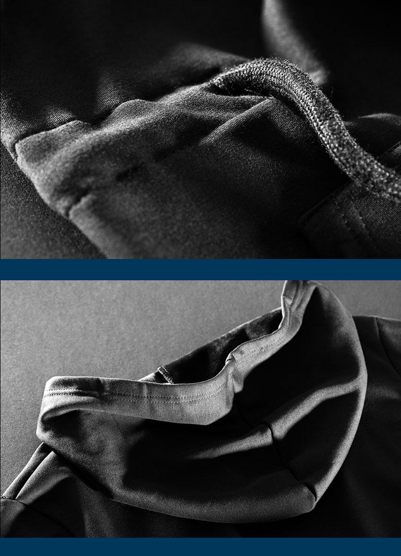 Cool Luminous Alan Walker Long Hoodie Black Men Hooded Sweatshirt