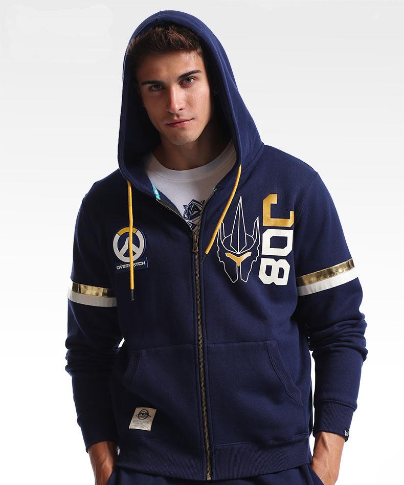 Overwatch Mccree Hoodie Zip Ow Hero Sweater