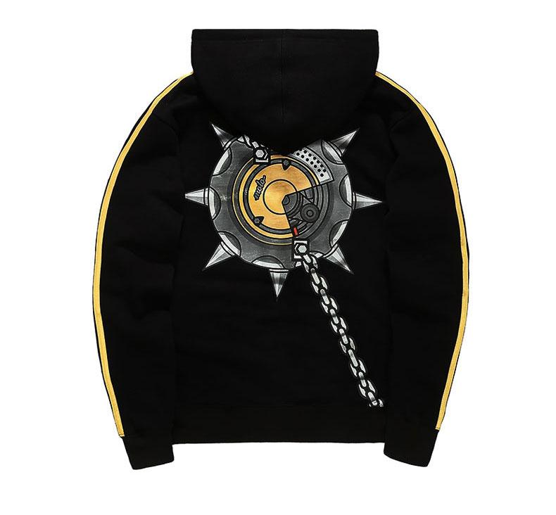 Overwatch Junkrat Cosplay Hoodie Blizzard OW Hero Sweatshirt