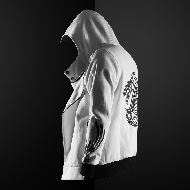 Quality Assassin's Creed Cosplay Hooded Jacket