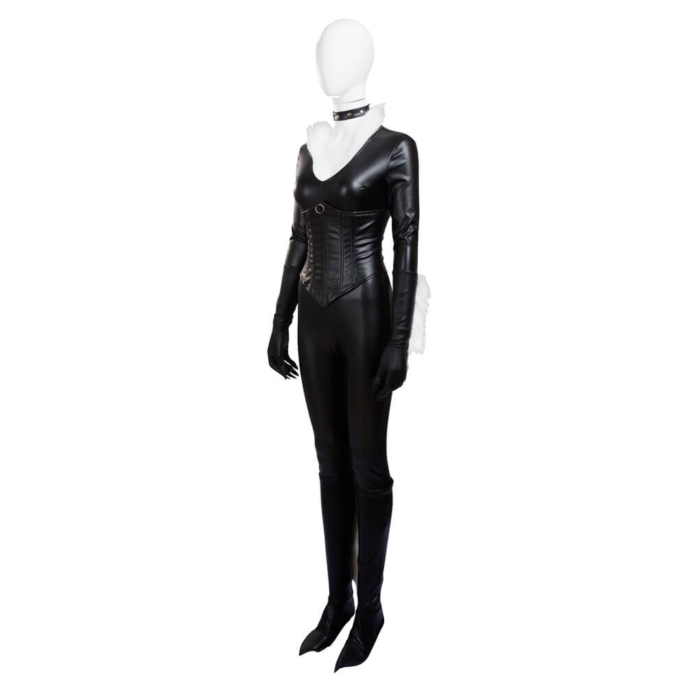 The Amazing Spider Man Black Cat Costume Sexy Halloween Cosplay Costumes For Women