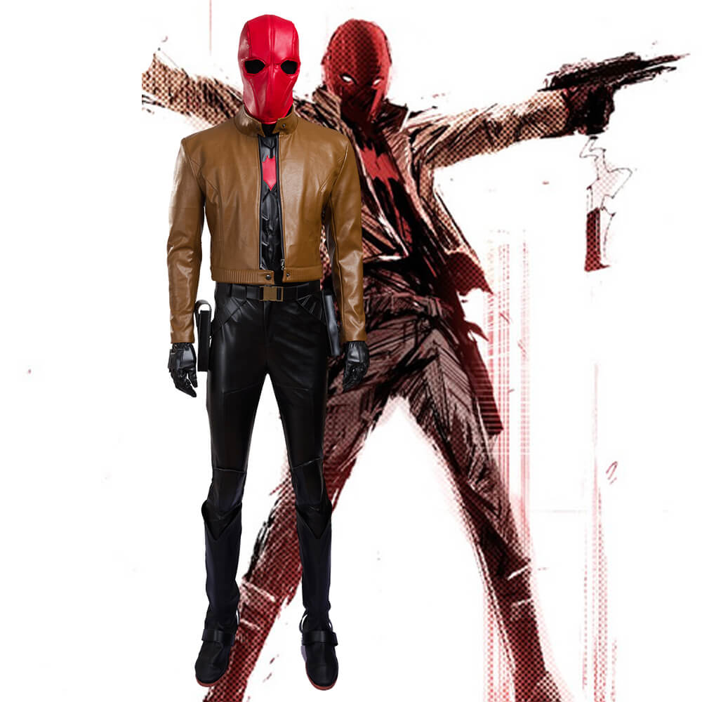 High Quality Batman Jason Todd Red Cosplay Costumes