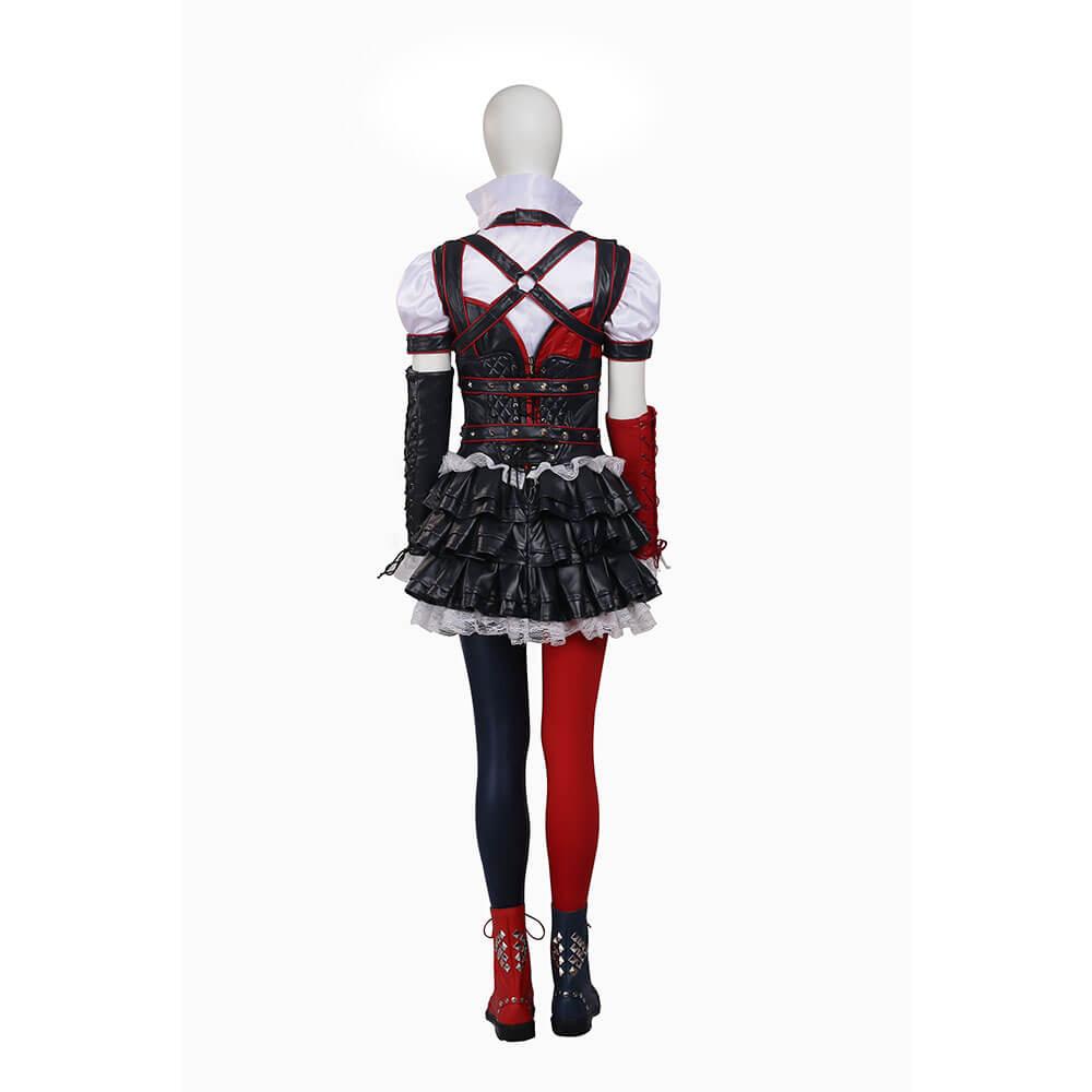 Original Batman Cosplay Costume Arkham Asylum City Harley Quinn Dress