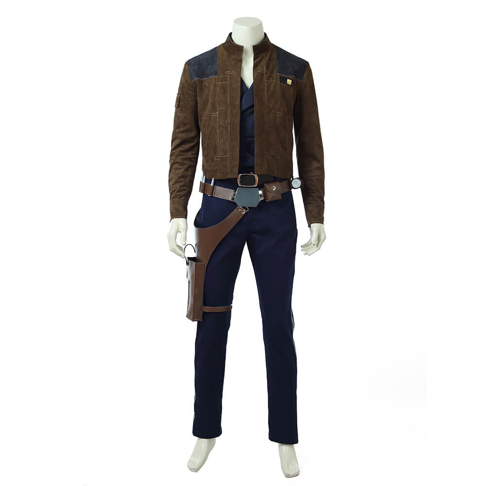 Quality Star Wars Han Solo Cosplay Custome