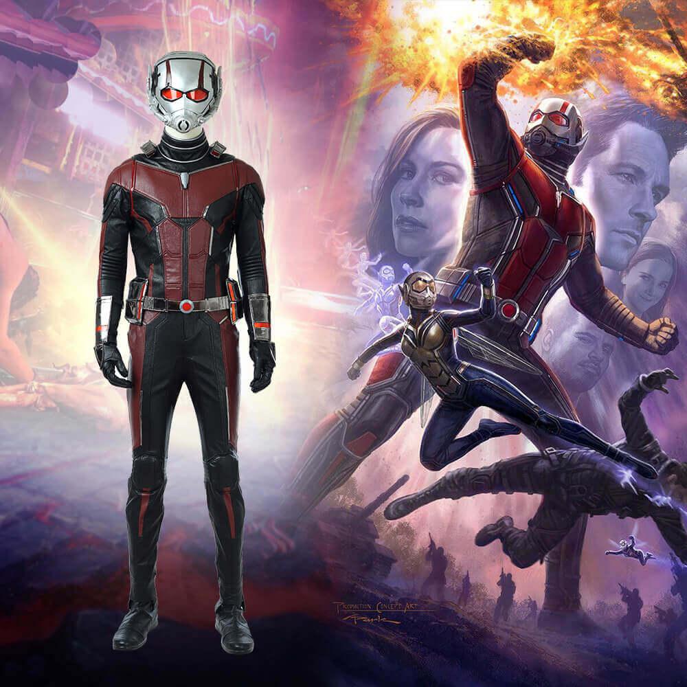 Quality Ant-Man Cosplay Costume Marvel Superhero Ant Man Cosplay jumpsuit