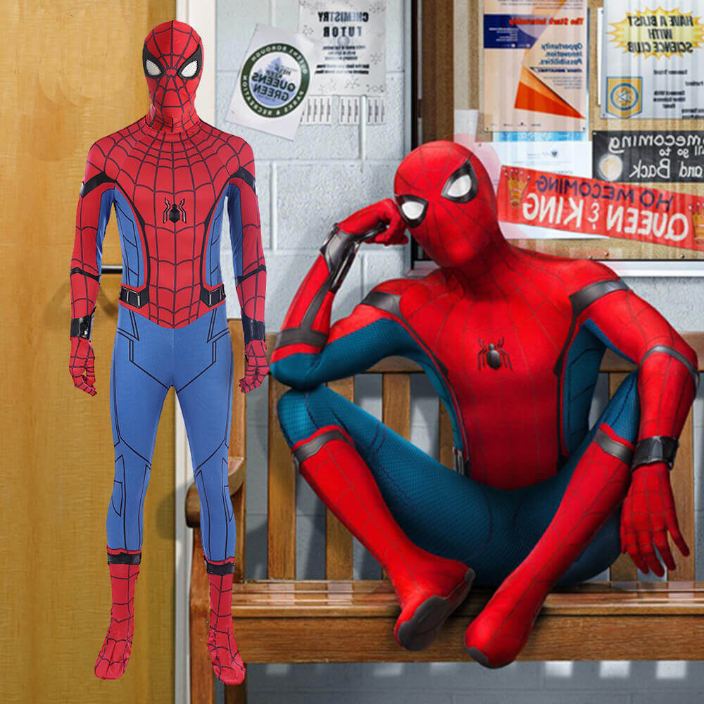 Spiderman Costume Homecoming Spider man Cosplay Jumpsuit