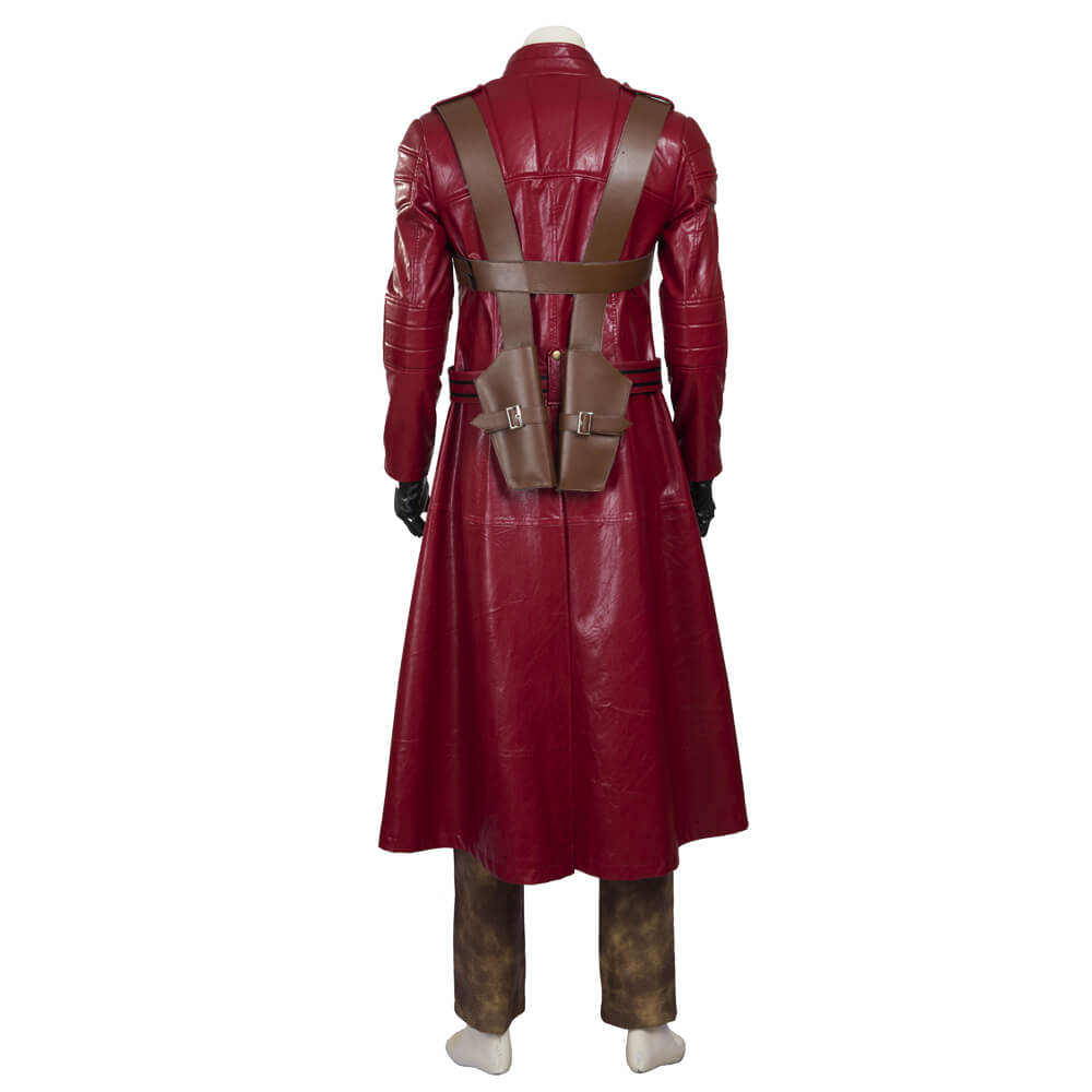 Devil May Cry Cosplay Costume Dmc Dante Pu Leather
