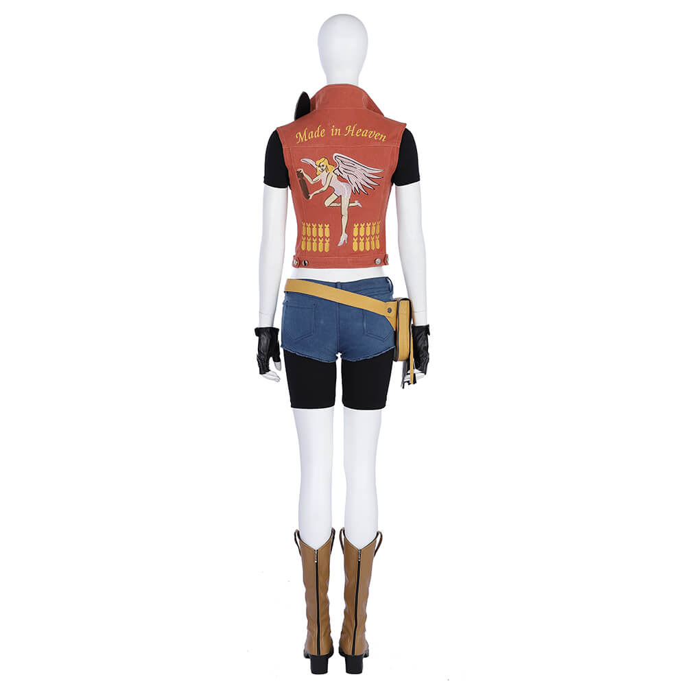 Resident Evil Claire Redfield Cosplay Costume