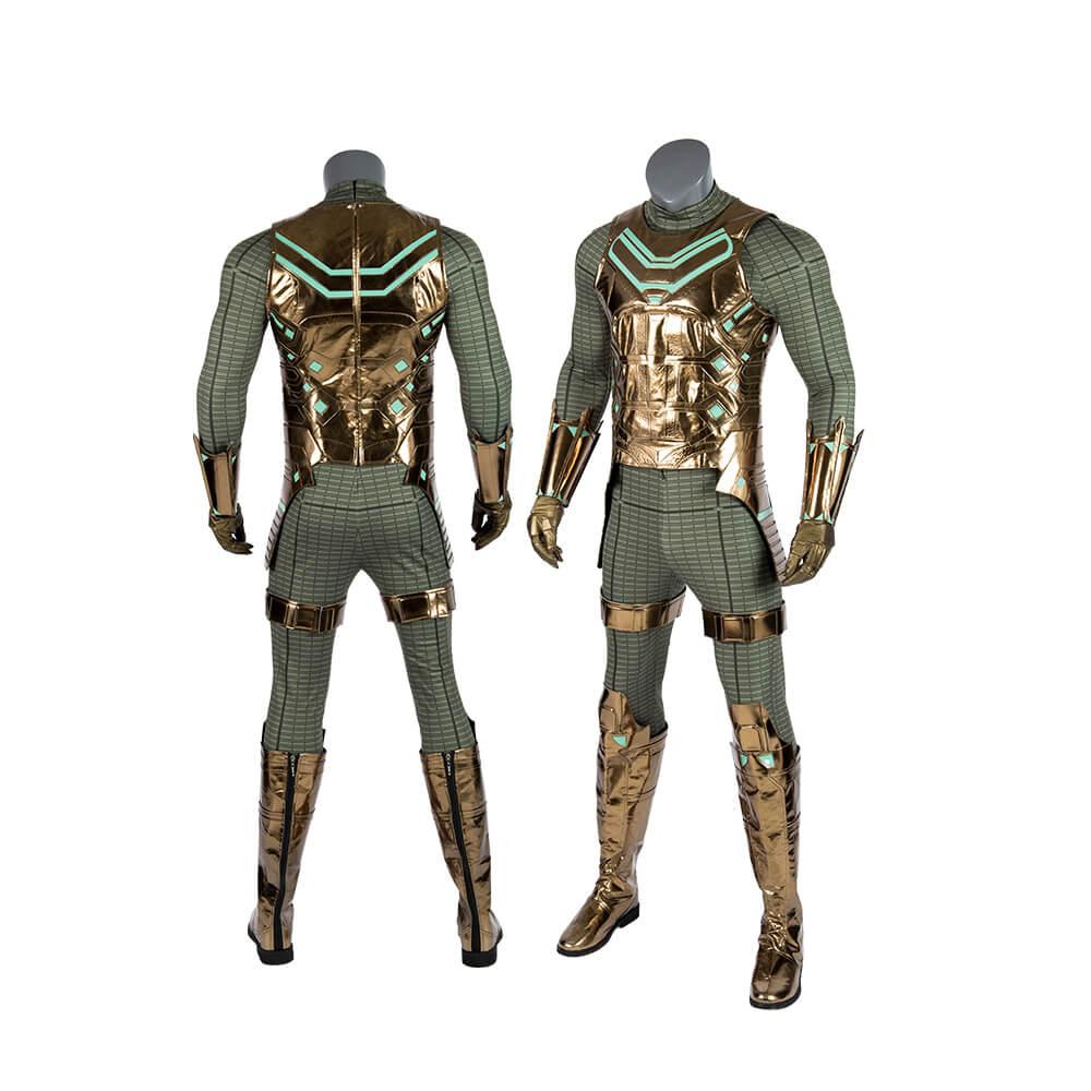 Marvel SpiderMan Mysterio Cosplay Costume