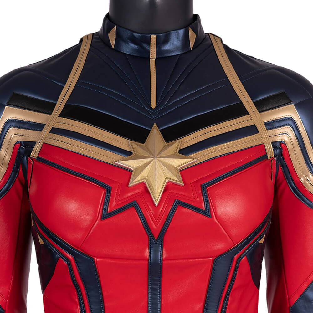 Captain Marvel Cosplay Costume Avengers 4 Carol Danvers Cloth for Women