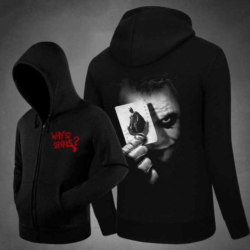 <p>Batman Joker Hooded Coat Movie Cotton Hoodie</p>