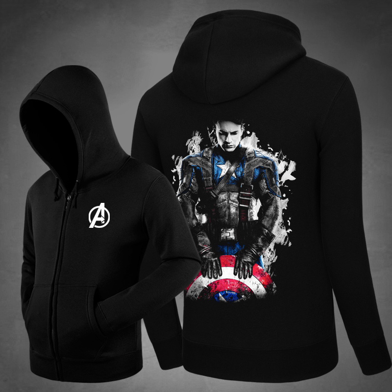 <p>The Avengers Captain America Tops Cool Hoodies</p>