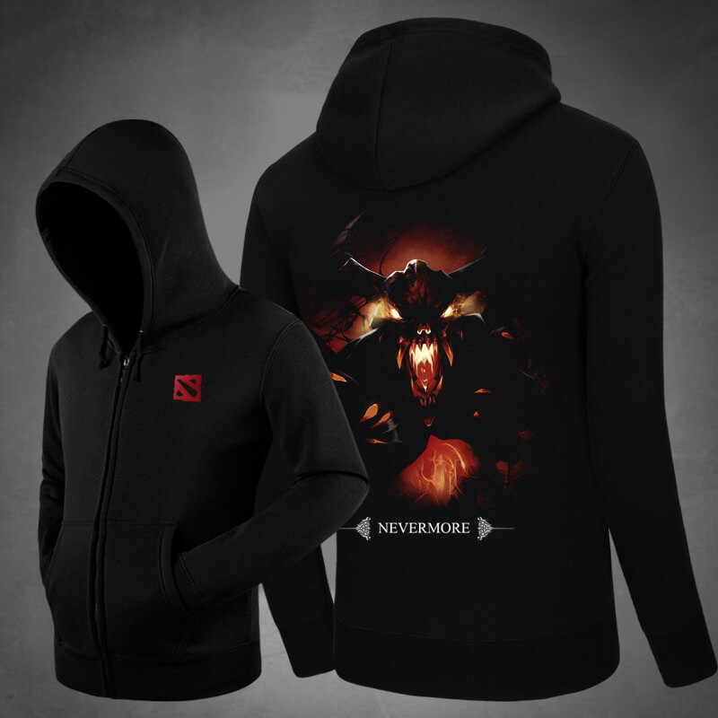 <p>Blizzard Defense of the Ancients DOTA 2 Hoodie Shadow Fiend Hooded Coat</p>