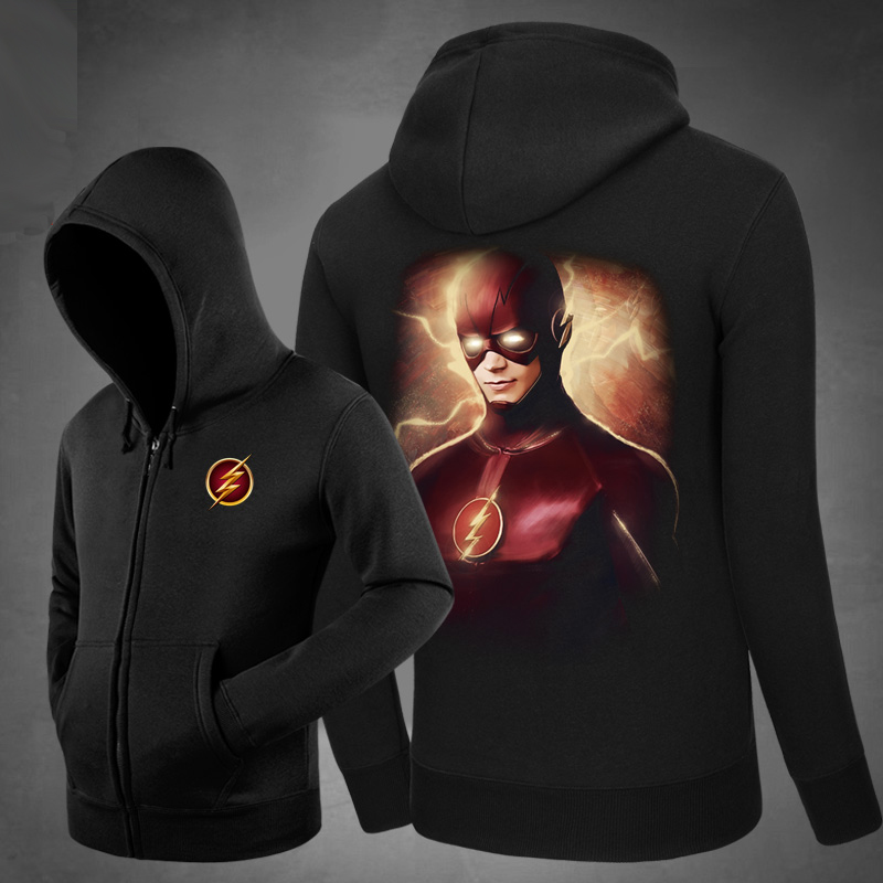 <p>Cool Coat Superhero The Flash Hoodies</p>