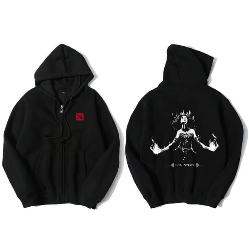 <p>Lina Hooded Jacket DOTA 2 Hero Hoodie</p>