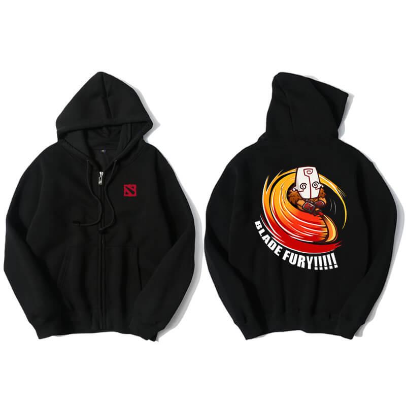 <p>DOTA 2 Hoodie Blizzard Juggernaut Hooded Coat</p>