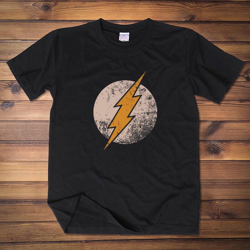 <p>The Flash Tee Marvel Superhero Cotton T-Shirts</p>
