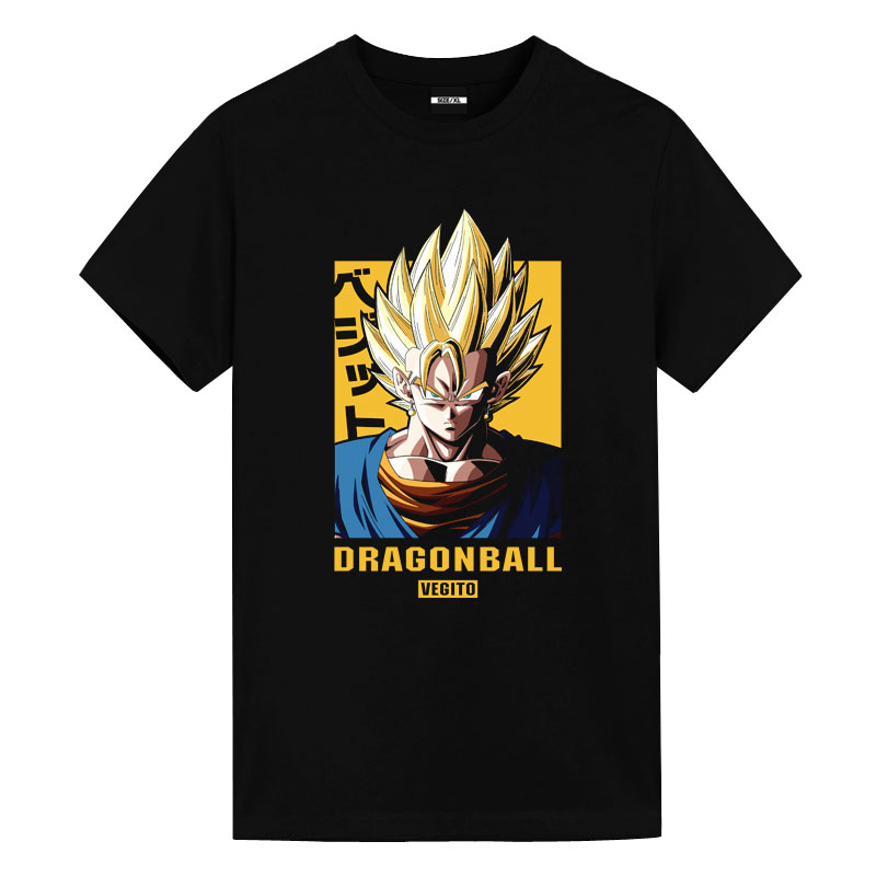 Vegetto T-Shirt Dragon Ball Anime White Shirt