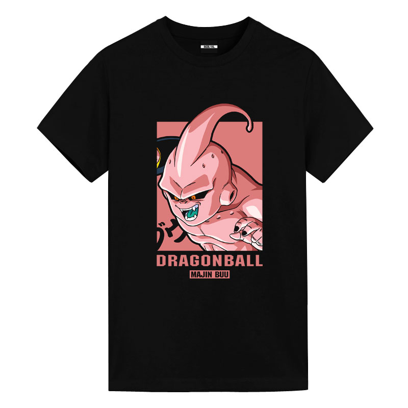 Dragon Ball Majin Buu Tshirts Mens Anime Shirts