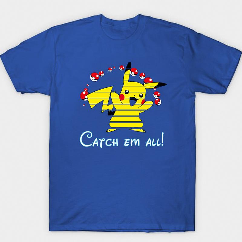 <p>Personalised Shirts Pikachu T-Shirts</p>