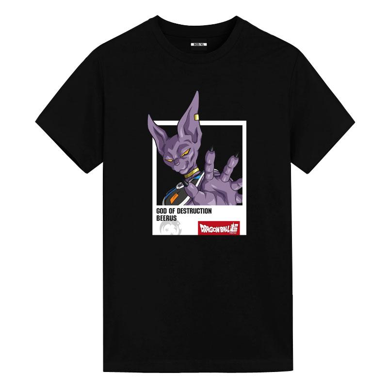 Dragon Ball Beerus Tees Anime Tee Shirts