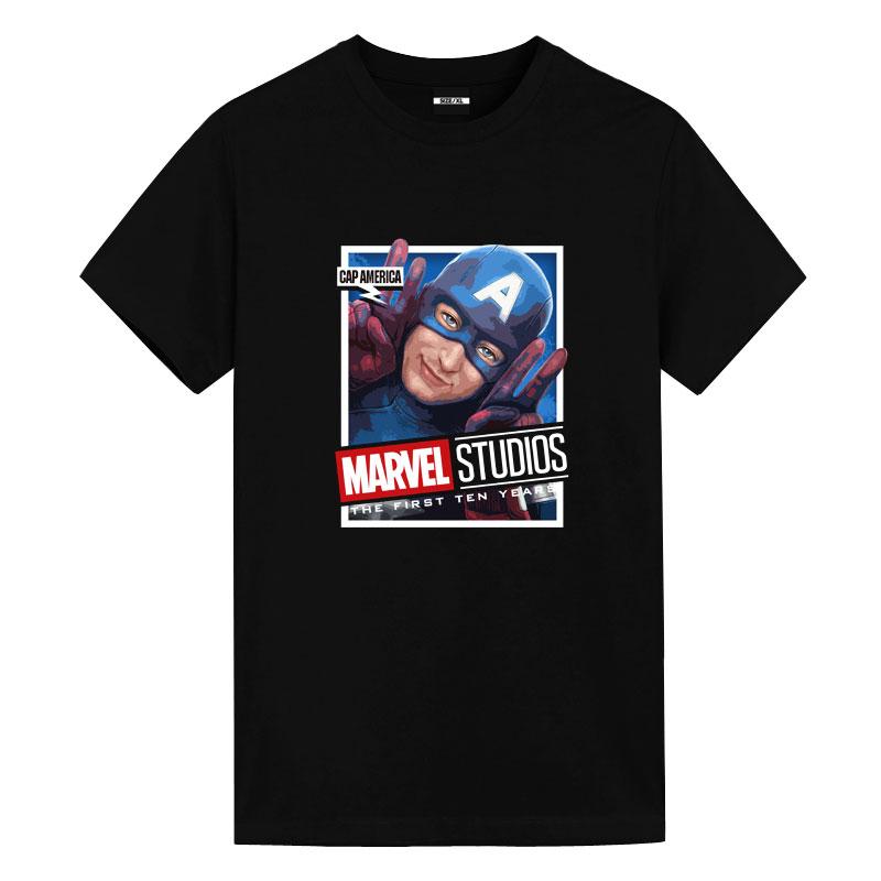 Captain America T-Shirts Marvel Studios T Shirt