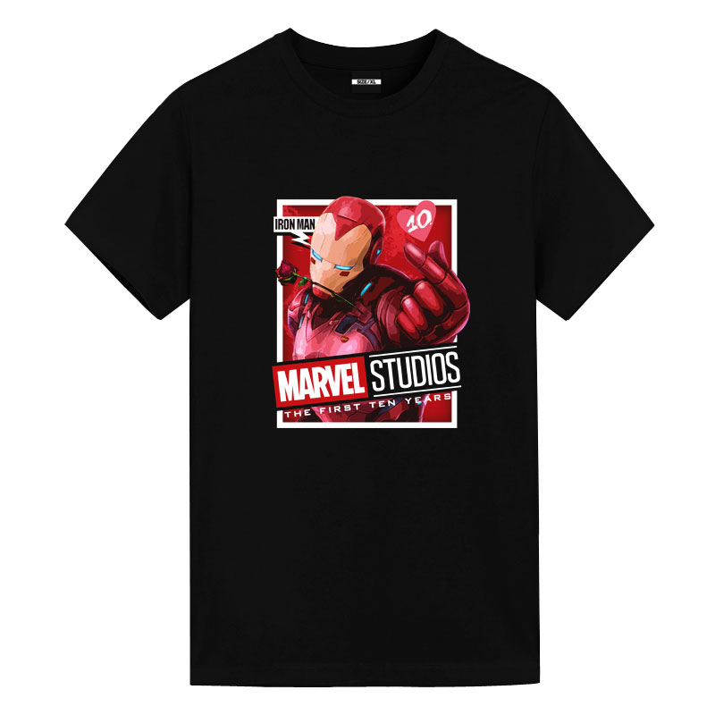 Iron Man Tees Official Marvel T Shirts