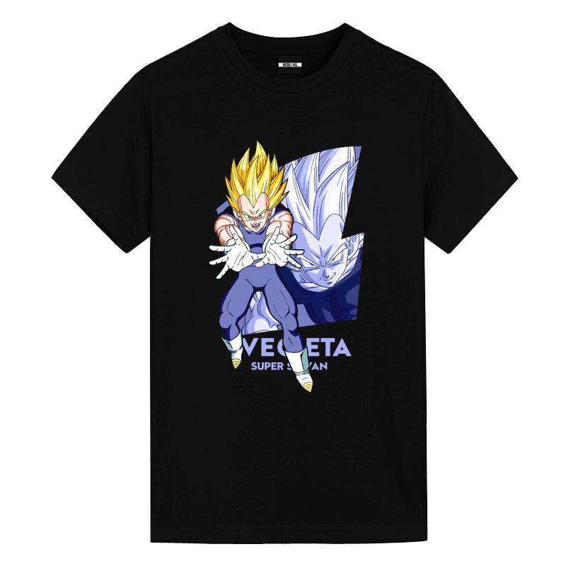 Dragon Ball Super Vegeta Tees Hot Topic Anime Shirts