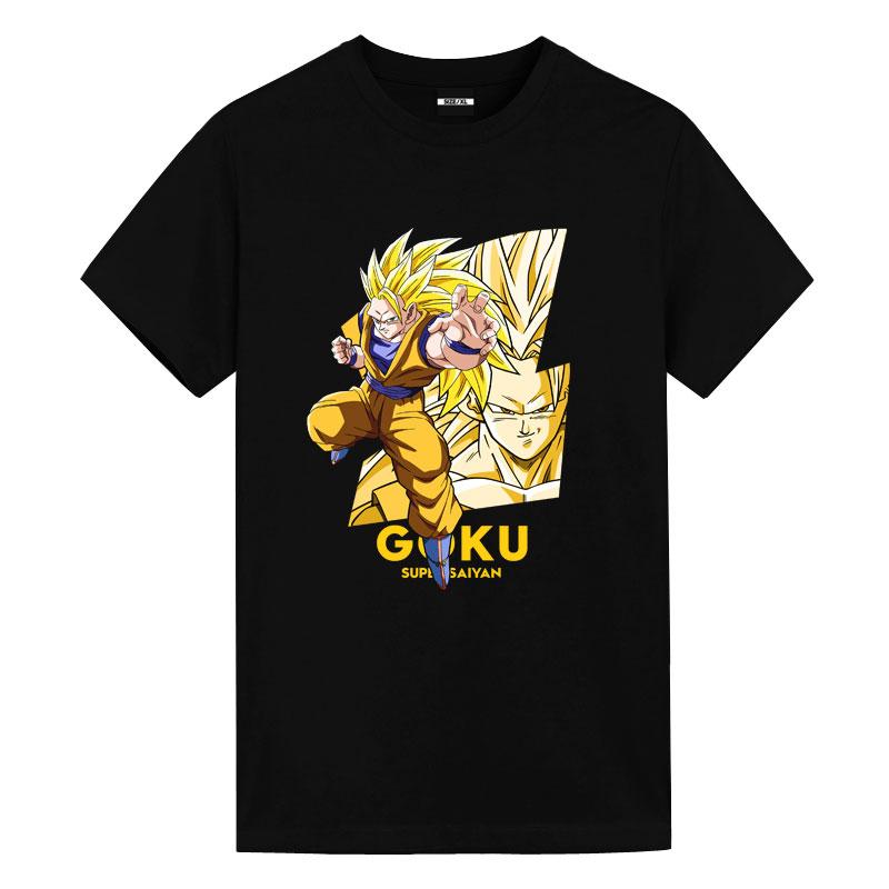 Saiyan Tee Dragon Ball Japanese Anime T Shirts