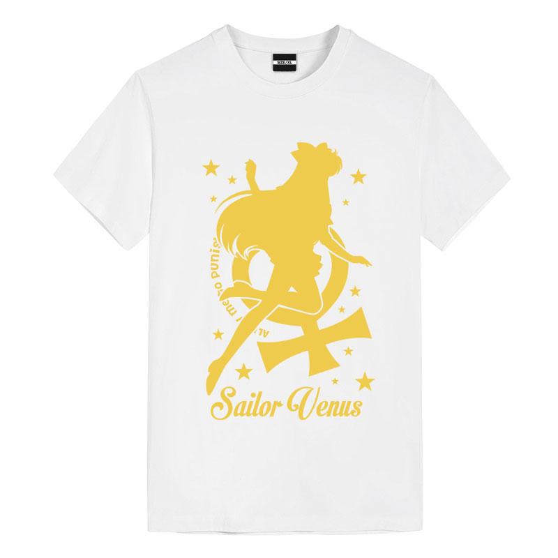 Sailor Moon Venus Tshirt Vintage Anime Shirts
