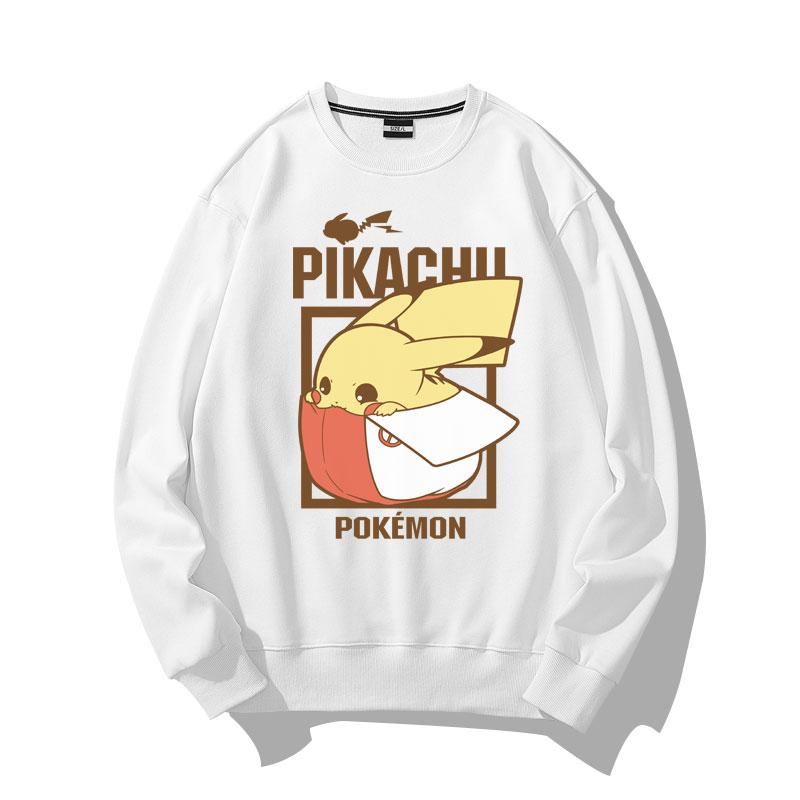 Pokemon Pikachu in Hat Sweatshirts Coat