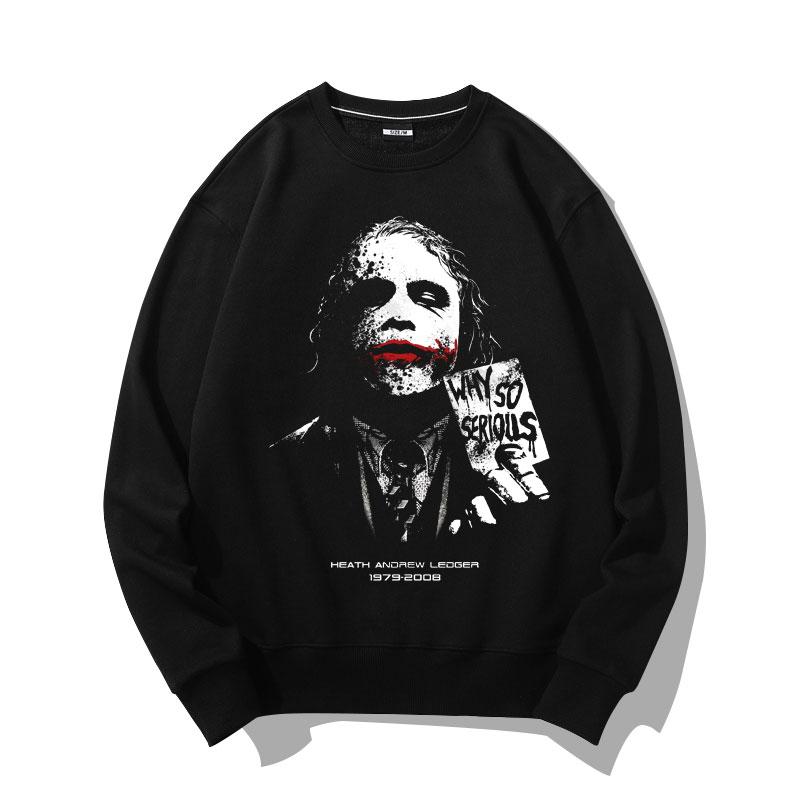 Cool Batman Joker Black Hoodie