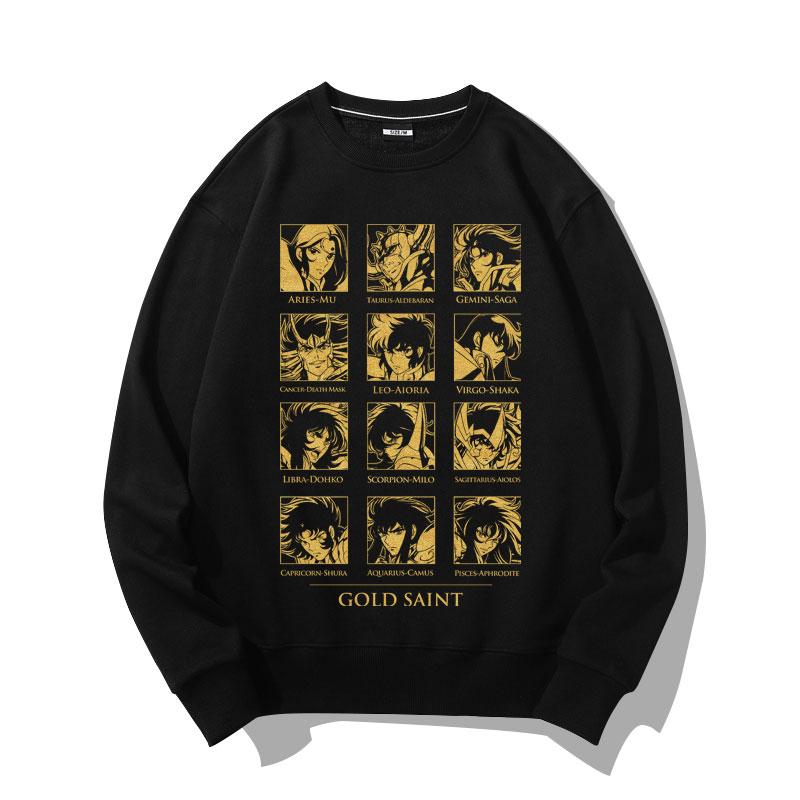 Saint Seiya Zodiac head Sweatshirt Coat