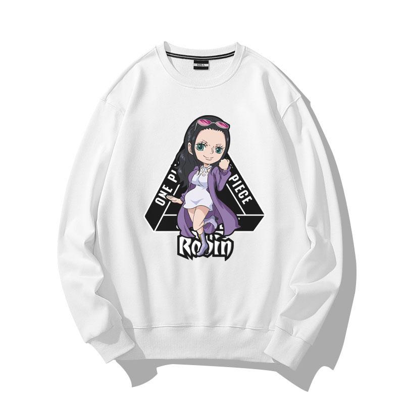 One Piece Nico Robin Sweatshirts Coat