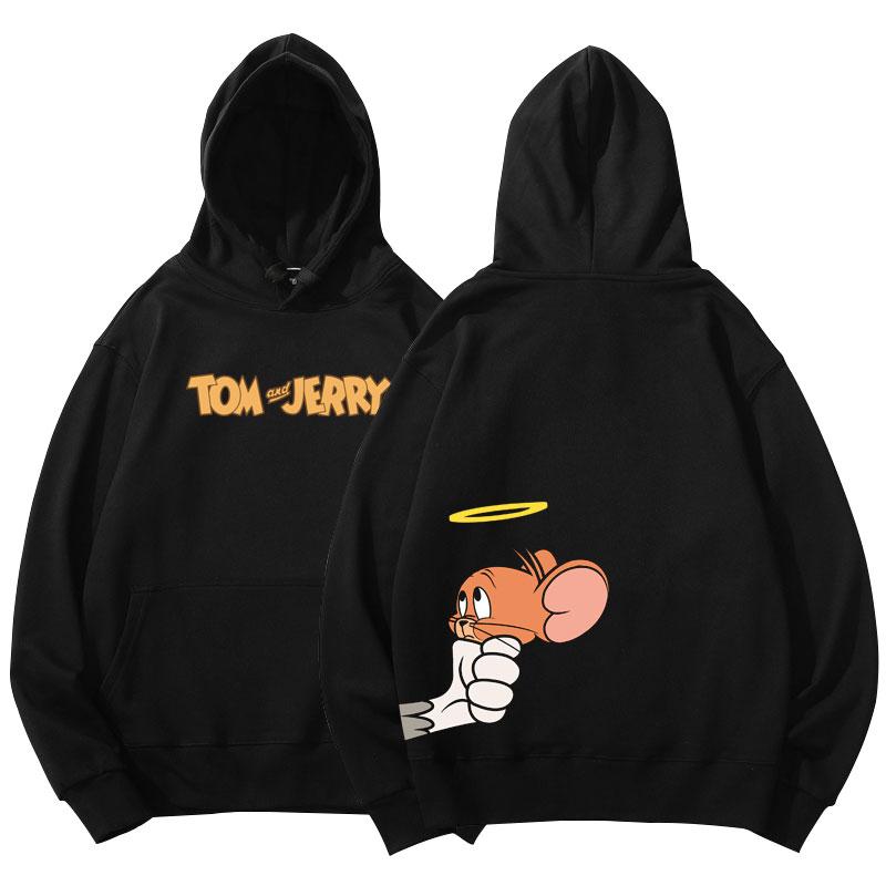 Tom and Jerry Angel Jerry Hoodies Jacket