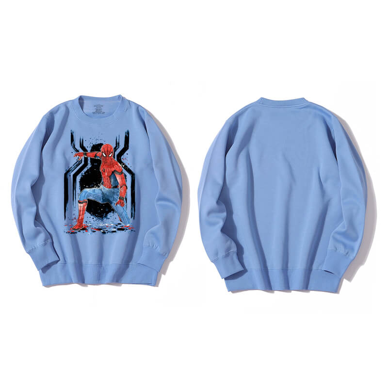 <p>Marvel Superhero Spiderman Hoodie Cotton Sweatshirt</p>