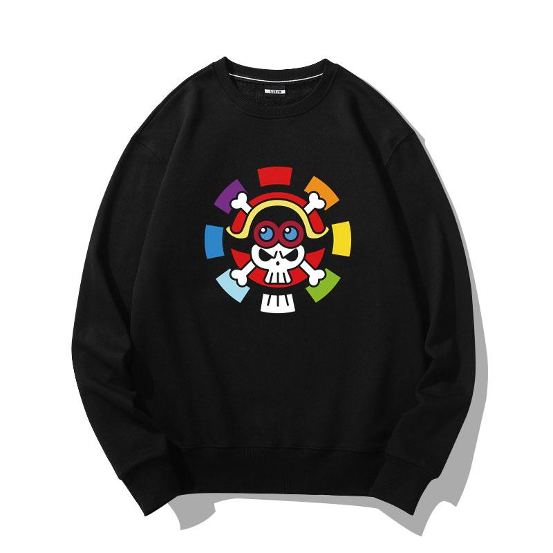 Pirate Logo Hoodie One Piece Sweater