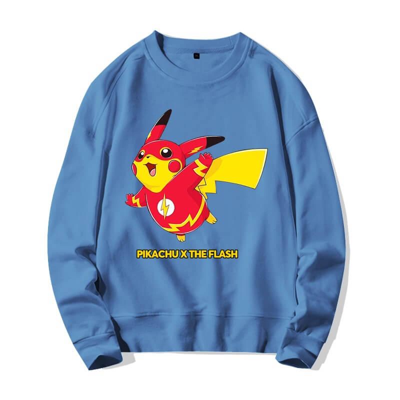 <p>Quality Sweater The Flash Pikachu Sweatshirts</p>