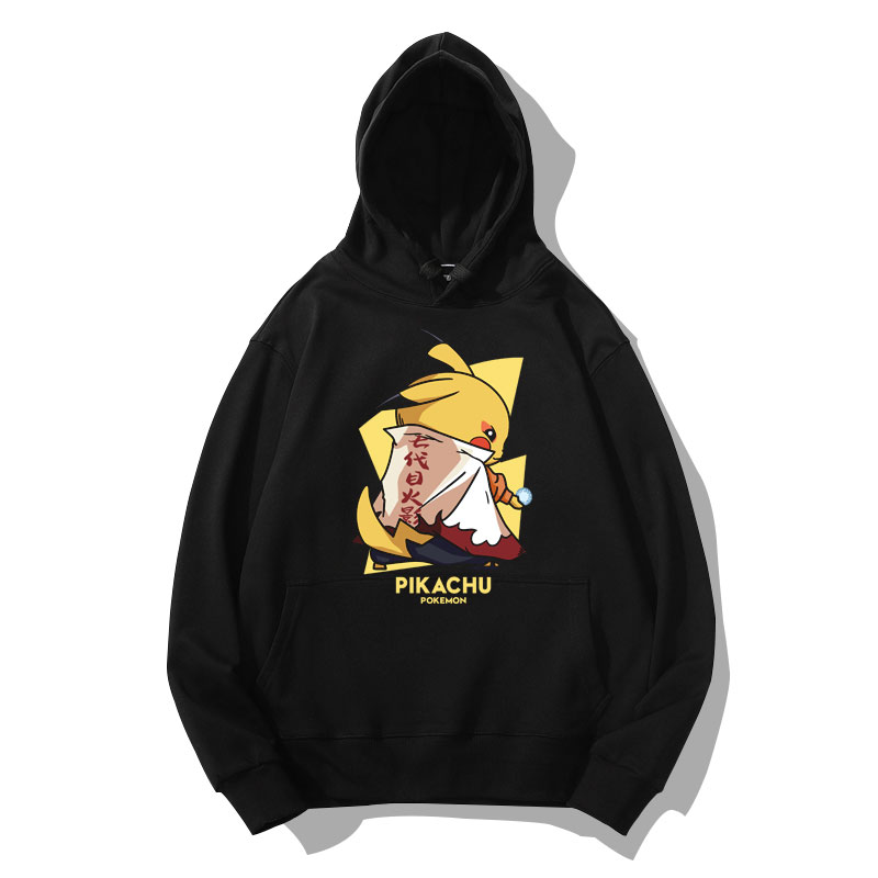 Pokemon Naruto Pikachu Hoodies Jacket