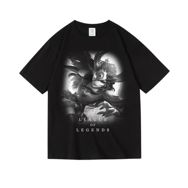 LOL Sivir Tee League of Legends Varus Viktor T-shirts