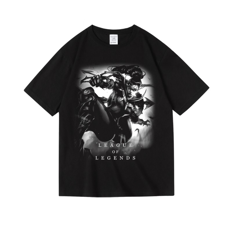 LOL Vayne Tee League of Legends Sett Talon T-shirts