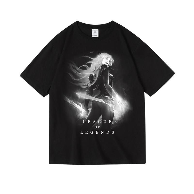 LOL Katarina Tee League of Legends Irelia Aphelios T-shirts