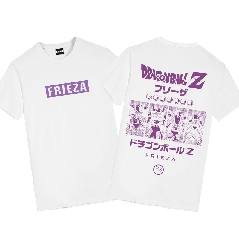 Frieza T-Shirt Dragon Ball Anime Couple Shirts