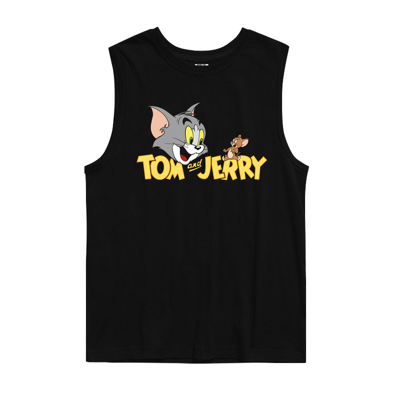 T-Shirt Tank Tops Tom and Jerry Vintage Anime T Shirts
