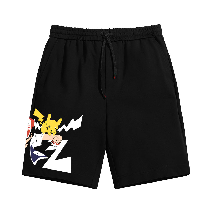 Pokemon Ash Ketchum Pants Sports Trousers