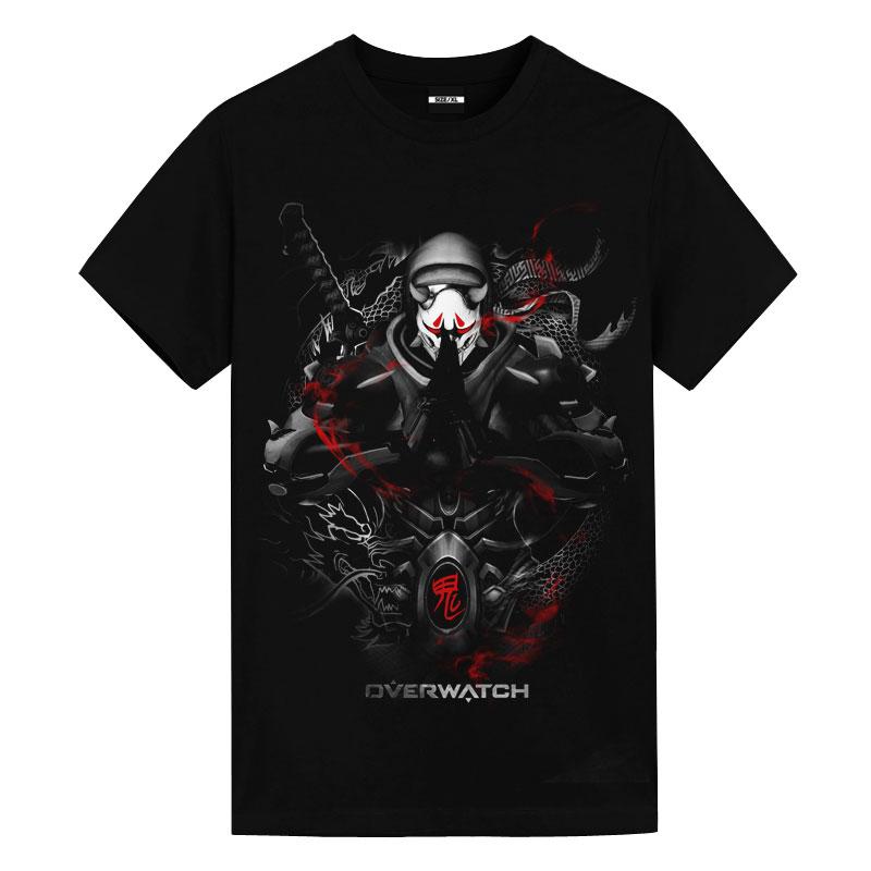 Overwatch oni genji Shirts Dark