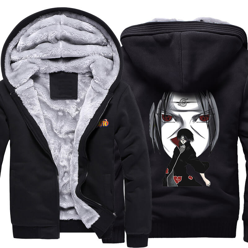 Naruto Uchiha Itachi Winter Warm Hoodies