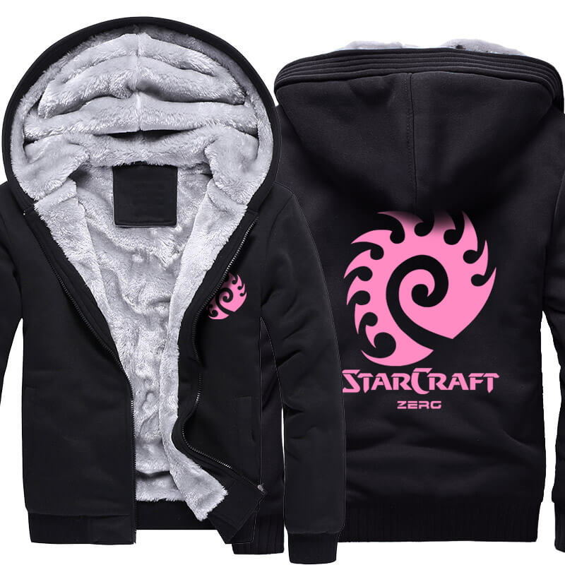 Starcraft 2 Zerg Thick Hoodies For Winter