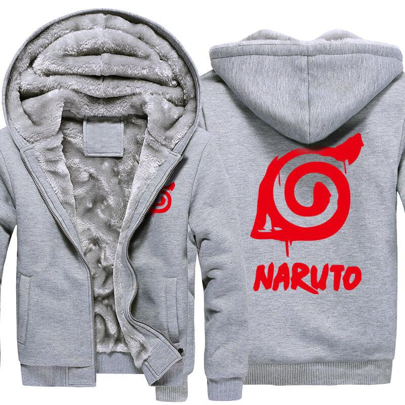 <p>Naruto Hatake Kakashi Thick Hoodies For Winter</p>