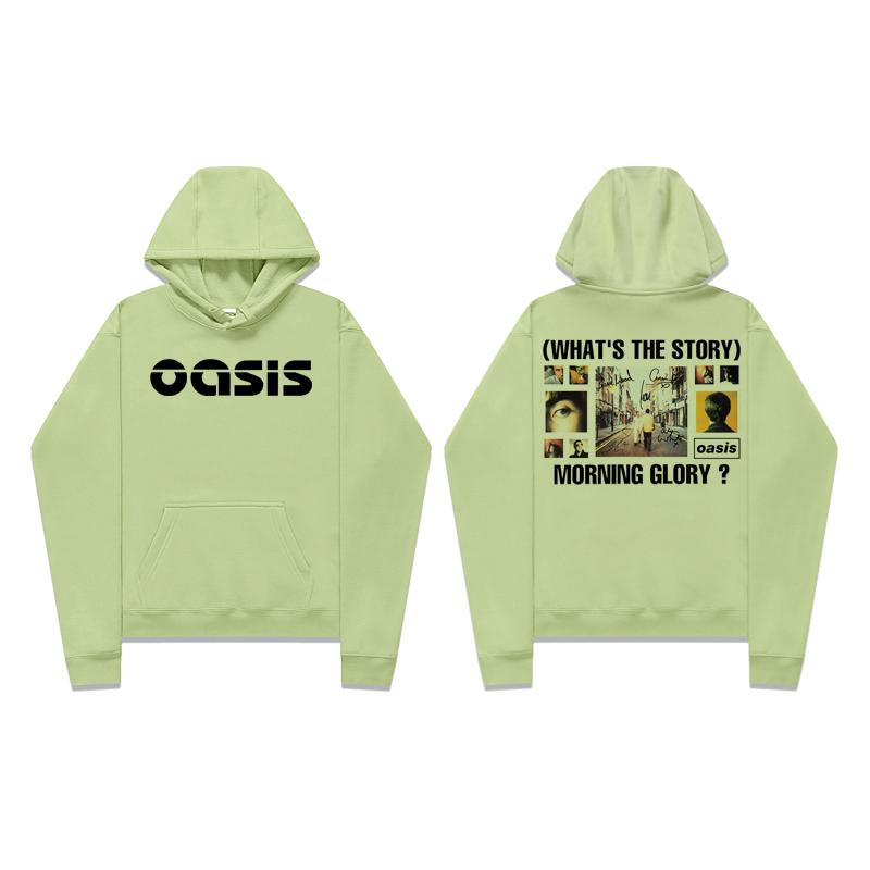 <p>Oasis Hoodie Rock N Roll Cool Tops</p>